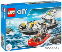 """LEGO City """"Полицейский патрульный катер"""""""