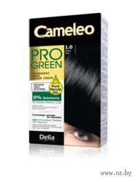 """Краска для волос без аммиака """"Cameleo Pro Green"""" 1.0 (черный)"""