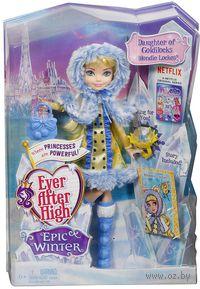 """Кукла """"Ever After High. Заколдованная зима. Блонди Локс"""""""