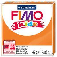 """Глина полимерная """"FIMO Kids"""" (оранжевый; 42 г)"""