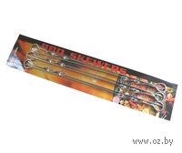 Набор шампуров металлических (6 шт, 45 см; арт. 5121)