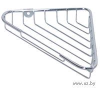 Полка для ванной угловая металлическая (215х139х35 мм)