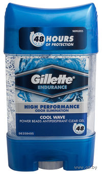 Антиперспирант для мужчин Gillette Power Beads Cool Wave (гель, 75 мл)