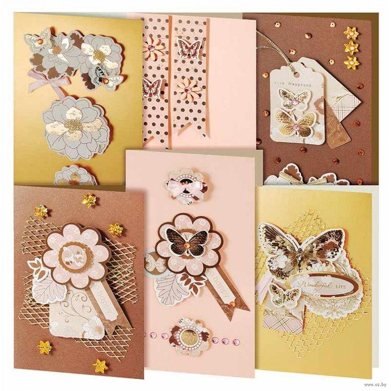 Набор для изготовления открытки клевер первые открытки, открытка галстук открытки