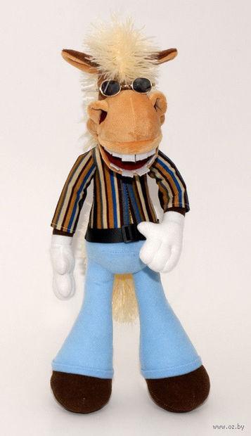 """Мягкая игрушка """"Конь Ник"""" (37 см)"""