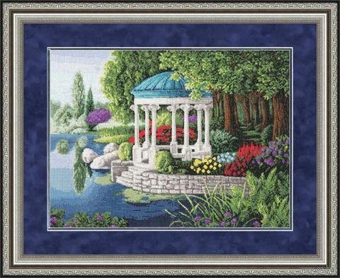 """Вышивка крестом """"Таинственный сад"""""""