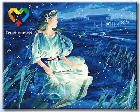 """Картина по номерам """"Дева"""" (400x500 мм; с люминесцентной краской; арт. YH4050006)"""