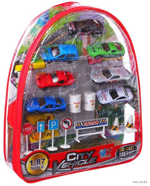 """Набор машинок """"City Vehicle"""" (7 шт.)"""