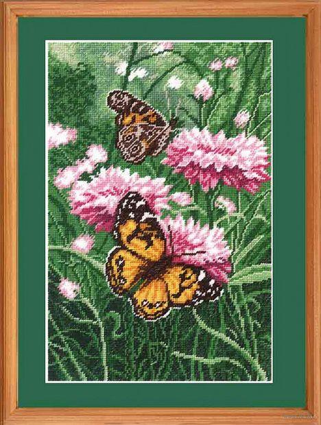 """Вышивка крестом """"Бабочки"""""""