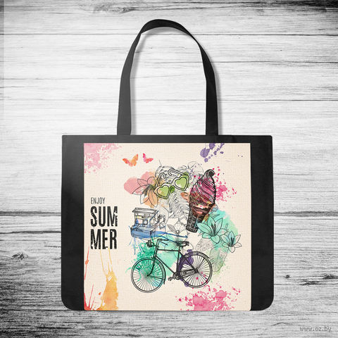 "Сумка-шоппер ""Enjoy summer"" (арт. 47) — фото, картинка"