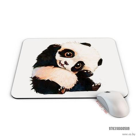 "Коврик для мыши ""Панда"" (арт. 509) — фото, картинка"