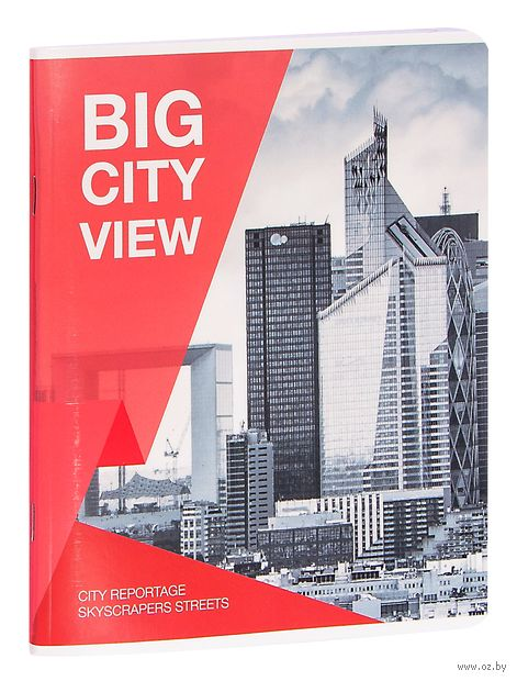 """Тетрадь общая в клетку """"Big City View"""" (80 листов) — фото, картинка"""