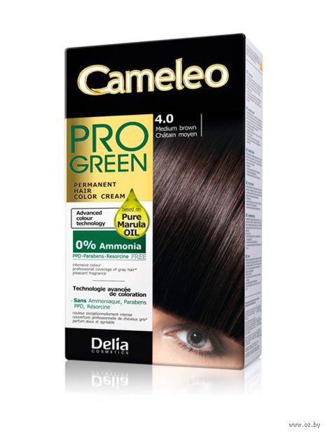"""Краска для волос """"Cameleo Pro Green"""" (тон: 4.0, коричневый) — фото, картинка"""