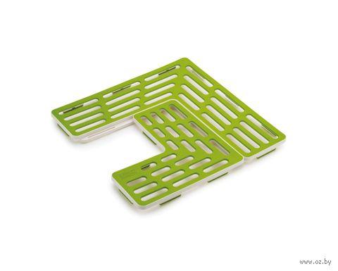 """Подложка для раковины универсальная """"SinkSaver"""" (зеленая) — фото, картинка"""