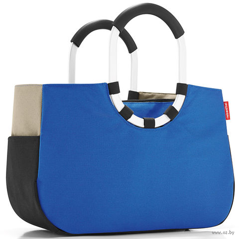 "Сумка 'Loopshopper"" (M, patchwork royal blue)"