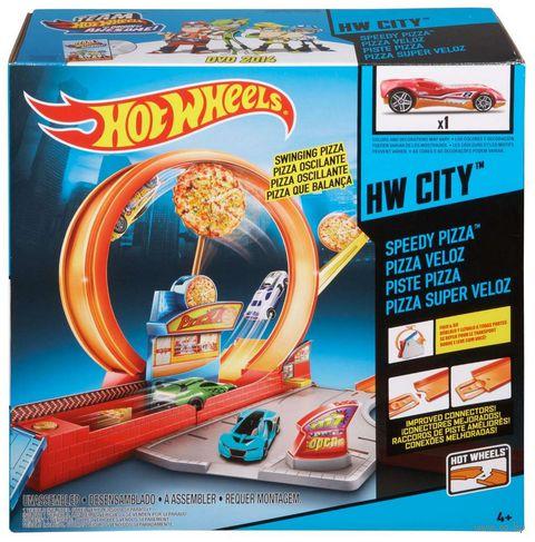 """Игровой набор """"Hot Wheels. Скоростная пицца"""""""
