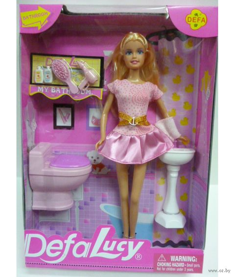 """Кукла """"В ванной комнате"""""""