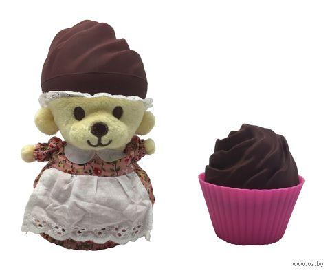 """Мягкая игрушка """"Сюрприз. Мишка в кексе"""" — фото, картинка"""