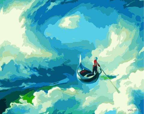 "Картина по номерам ""Чебоха. Источник вдохновения"" (400х500 мм) — фото, картинка"