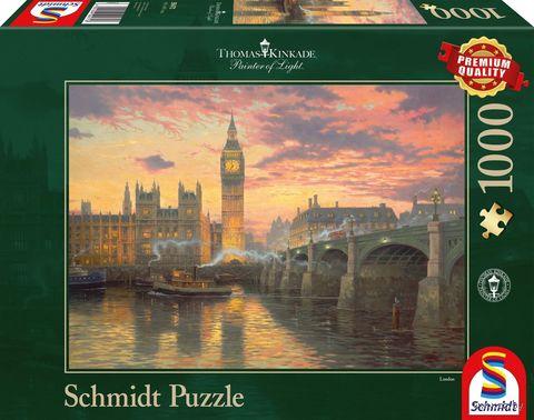 """Пазл """"Вечернее настроение в Лондоне"""" (1000 элементов) — фото, картинка"""