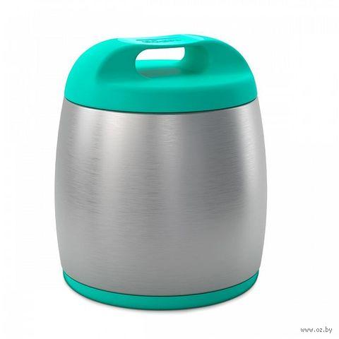 Термос Chicco для детского питания 0,35 л (голубой) — фото, картинка