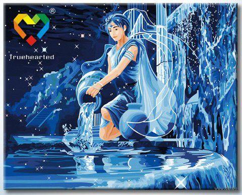 """Картина по номерам """"Водолей"""" (400x500 мм; с люминесцентной краской; арт. YH4050011)"""