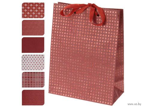 Пакет бумажный подарочный (в ассортименте; 18х23х8 см; арт. A59100420)