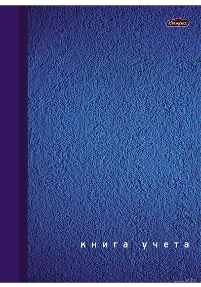 """Тетрадь в клетку """"Книга учета"""" 80 листов (синяя)"""