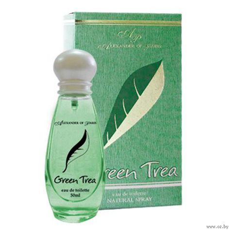 """Туалетная вода для женщин """"Green Trea"""" (50 мл)"""