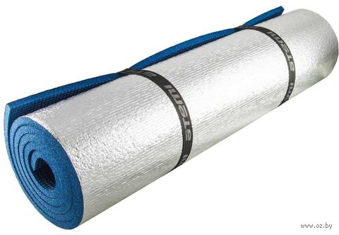 Коврик туристический металлизированный (синий) — фото, картинка