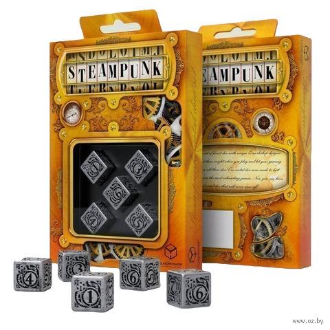 """Набор кубиков """"Metal Steampunk"""" (5 шт.; металл) — фото, картинка"""