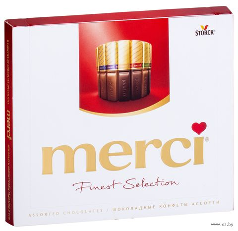 "Набор шоколада ""Merci"" (250 г) — фото, картинка"