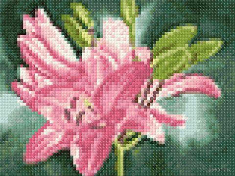 "Алмазная вышивка-мозаика ""Лилия"" (200х150 мм) — фото, картинка"