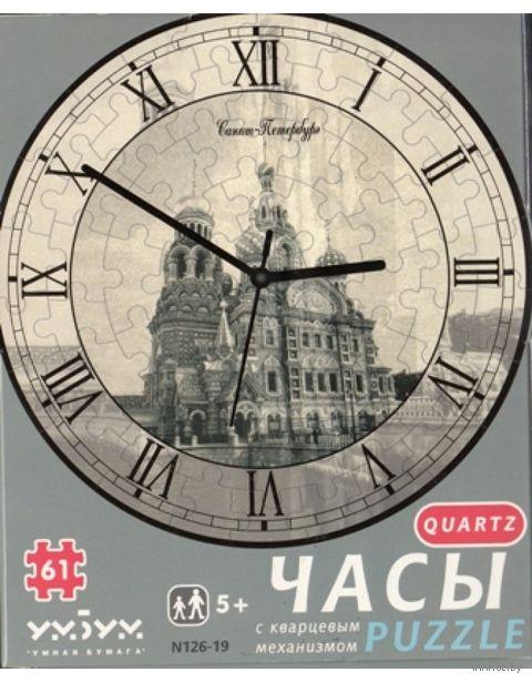 """Пазл-часы """"Часы Спас"""" (с часовым механизмом) — фото, картинка"""