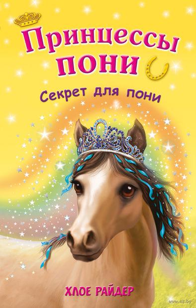 Секрет для пони — фото, картинка