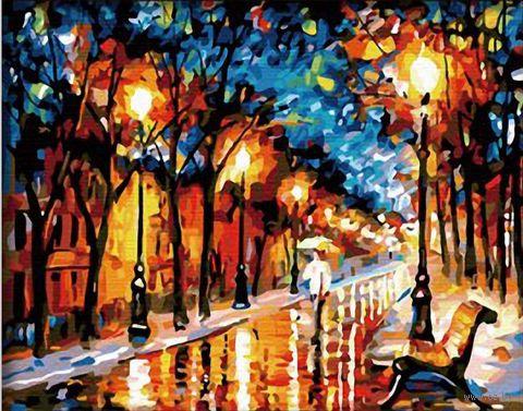 "Картина по номерам ""Вечерняя аллея"" (400х500 мм)"