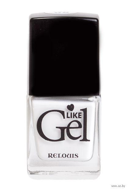 """Лак для ногтей """"Like Gel"""" (тон: 08, заснеженные Альпы) — фото, картинка"""