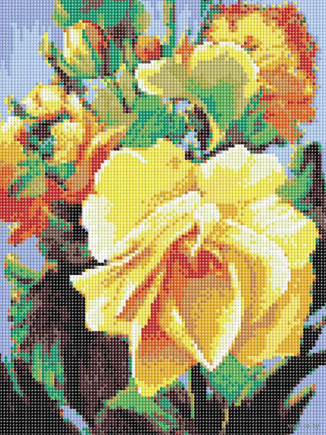 "Алмазная вышивка-мозаика ""Роза"" (300х400 мм) — фото, картинка"
