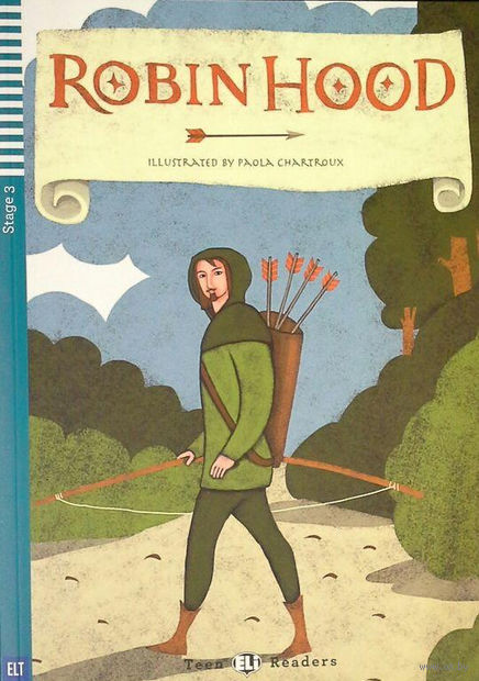 Teen Eli Readers. Robin Hood (+ CD) — фото, картинка