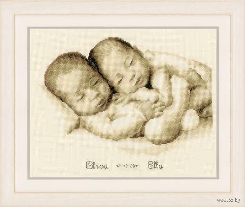 "Вышивка крестом ""Малыши"" (300x240 мм) — фото, картинка"