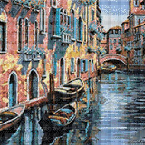 """Алмазная вышивка-мозаика """"Канал в Венеции"""" (400х400 мм) — фото, картинка"""