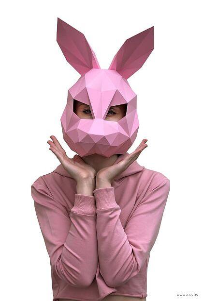 "3D-конструктор ""Заяц"" (розовый) — фото, картинка"