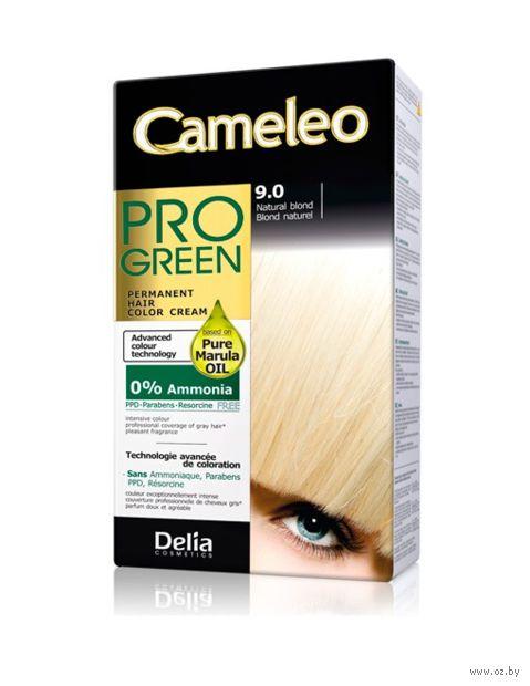 """Краска для волос """"Cameleo Pro Green"""" (тон: 9.0, натуральный блондин) — фото, картинка"""