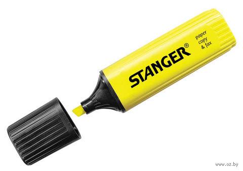 Маркер текстовыделитель (желтый; 5 мм)