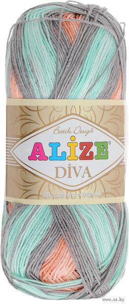 "Пряжа ""ALIZE. Diva Batik Design №5550"" (100 г; 350 м) — фото, картинка"