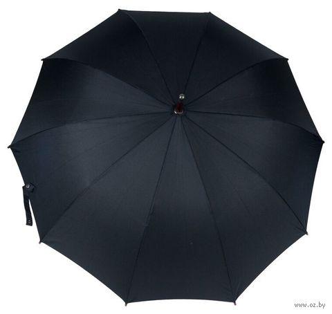 Зонт-трость (черный; арт. M-4) — фото, картинка