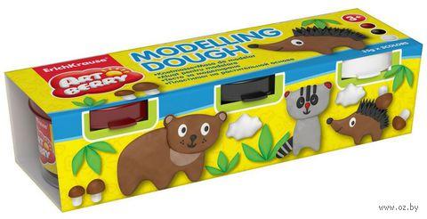"""Пластилин на растительной основе """"Modelling Dough №3"""" (3 цвета)"""