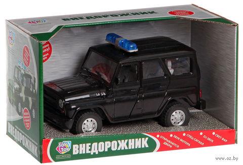 """Модель машины """"УАЗ. Полиция"""" (масштаб: 1/24) — фото, картинка"""