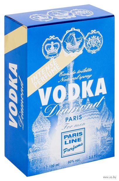 """Туалетная вода для мужчин """"Vodka Diamond"""" (100 мл) — фото, картинка"""
