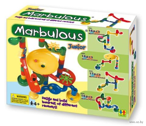 "Конструктор ""Marbulous. Junior"" (16 деталей; арт. 284)"